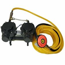Air cooled 12V 160W Oil-less Diaphragm Pump, Hookah Dive System Compressor