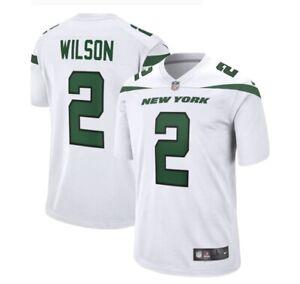 Nike NFL On-Field XL White Jersey Zach Wilson Jets NEW UNOPENED NWT XL
