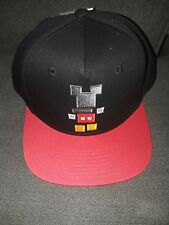 Neff Disney Collab Snapback Hat Block Mickey Mouse Bred Black Red