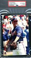 Chipper Jones PSA DNA Coa Signed Braves Photo Autograph