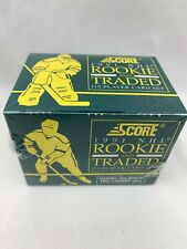1991 Score Rookie & Traded Sealed Complete 110-Card Hockey Set