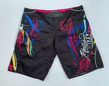 JETPILOT women's embroidered board surf swim shorts size 14