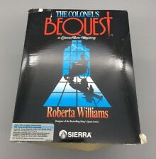The Colonel's Bequest A Laura Bow Mystery PCI BM Comp. Game Sierra Complete F06