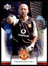 Upper Deck Manchester United 2002-2003 - Fabien Barthez  No.1