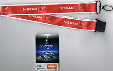 Sammler Ticket VIP-Pass Nissan Borussia Dortmund - Real Madrid CF UCL 2017/18