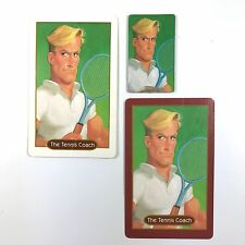 13 Dead End Drive Game Replacement Character Portrait Tokens Card ~ Tennis Coach