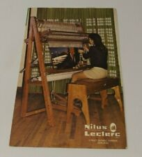 Weaving Looms and Accessories Nilus Leclerc Catalogue 1975 Price List Catalog