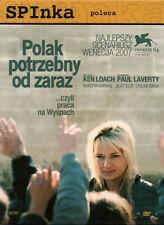 Polak potrzebny od zaraz (DVD) 2008 Ken Loach, Leslaw Zurek POLSKI