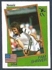 PANINI SUPERSPORT 1988/89- #193-UNITED STATES-TENNIS-PAM SHRIVER