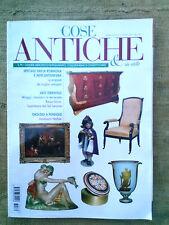 Cose Antiche n.170 marzo 2007  speciale Emilia Romagna, orologi a pendolo