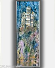LTD ED SHANGRI-LA HAUNTED HOUSE PAINTING PRINT FROM ORIGINAL BY SUZANNE LE GOOD