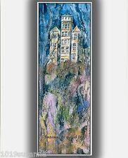 Ltd Ed Shangri-la Casa Embrujada Pintura impresión de Original De Suzanne le Buena