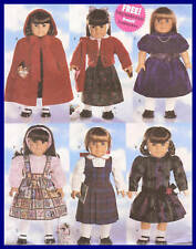 PATTERN toSEW 18inch doll Cape dress clothes knit sweater blouse Butterick 5587