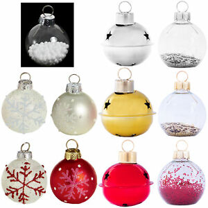 Christmas Set 6 Bauble Style Table Place Card Holder - FREE Place Cards