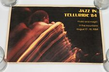 Jazz In Telluride '84 - Music and Magic in the Mountains 1984 - Rare Poster