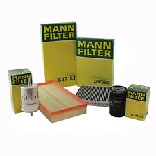 MANN-FILTER Air Oil Cabin Fuel Filters RAPKIT007