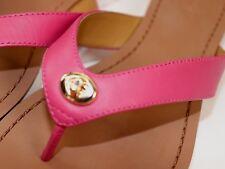 NIB COACH Size 7 Women's Dahlia 100% Semi Matte Calf Leather SHELLY Sandal