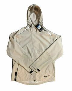 bv4858-221 NWT Men's Nike AreoShield Full-Zip Hooded Reflective Running Jacket