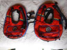 Seatec diving Scuba Diving Vest Pre owned Red Rainbow Color Bag