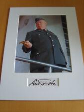 Gert Frobe James Bond Genuine Signed Authentic autograph - UACC / AFTAL