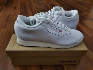 EUC Womens Ladies REEBOK PRINCESS LITE CLASSIC Sneakers Shoes 8.5D WIDE 8.5