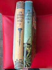 """""""Con l'esercito italiano in A.O."""" - 2 volumi – Mondadori,1937"""