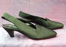 Eveningwear Heels 1980s Vintage Shoes for Women