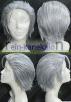 Devil May Cry Vergil Short Silver Gray Cosplay Party Wig Hair