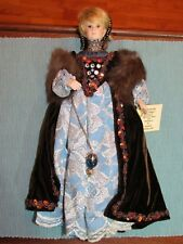 "13"" Ladye Fayre Bisque Doll-1988-Historical-Catherine of Argon"