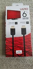 New In-Box Vizio High Speed HDMI Cable 6 ft Black (actual item pictured)