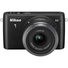 Nikon 1 S2 Mirrorless 14.2MP Digital Camera with 11-27.5mm Lens - Black