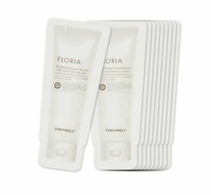 Tony Moly TONYMOLY Floria Brightening Foam Cleanser Samples 20pcs Us seller