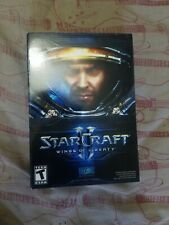 StarCraft II 2 Wings of Liberty PC CIB Guide + Case + Disc + CD Key Tested