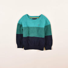 Tommy Hilfiger Junge Kinder Pullover Sweater Strick Gr.92  Mehrfarbig, 54402