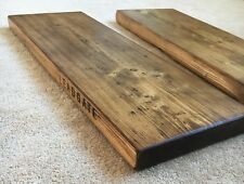 RECLAIMED Scaffold Boards - 17 Sizes - Industrial - Rustic Wooden Display Shelf