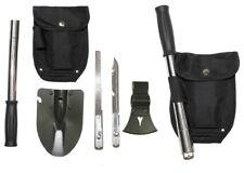 Multifunktions Outdoor Werkzeugset Beil Spaten Säge Messer Tasche Survival Tool