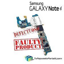 Placa Base Motherboard Samsung Galaxy Note 4 SM-N910F Faulty Defectuosa