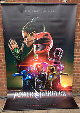 Cinema Banner: POWER RANGERS 2017 (Main) Dacre Montgomery Naomi Scott RJ Cyler