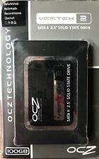 """OCZ Vertex2 100GB 2.5"""" SATA II Solid State Drive - 100GB, 2.5"""", SATA II"""