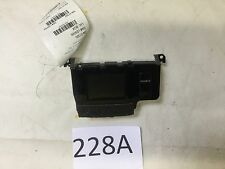 11-14 TOYOTA SIENNA DASH INFO BACK VIEW CAMERA GPS TV SCREEN OEM 228A S