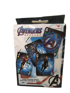 Avengers End Game Large Playing Cards New  Age 4 +
