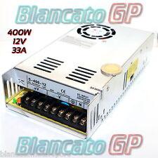 ALIMENTATORE 400W 12V DC 33A TRASFORMATORE STABILIZZATO 30A SWITCHING 220V AC CE