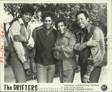 "1974 Press Photo 1950s Rock and Roll music group ""The Drifters"" - hcp00536"