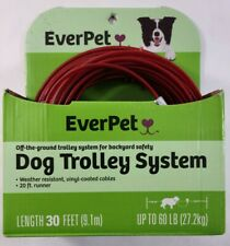 Dog Trolley System 30 feet up to 60 lbs NEW ITEM