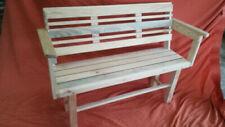 Bancos y taburetes de patio de madera maciza para el hogar