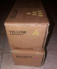 TONER ORIGINAL RICOH MPC 4000 5000 4501 Y 5501 MAGENTA Y AMARILLO YELLOW