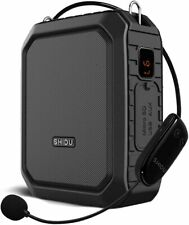 More details for 18w wireless bluetooth voice amplifier booster microphone waterproof portable