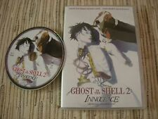 DVD ANIME GHOST IN THE SHELL 2 INNOCENCE LA PELICULA MAMORU OSHII USADO