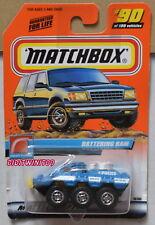 MATCHBOX 2000 TREASURE HUNT W/ MATCHBOX LOGO BATTERING RAM #90/100 W+