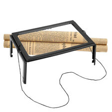 Full Page 3x Magnifier With LED Light Magnifying Glass Book Reading Aid Lens
